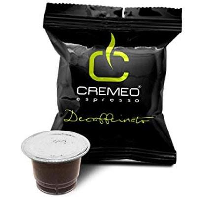 Capsule caffè Cremeo per Nespresso decaffeinato
