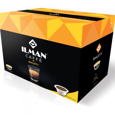 100 Capsule ILMAN Compatibili Sistema Bialetti