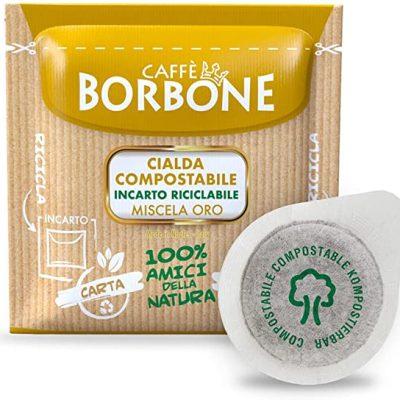 150 Cialde caffè Borbone miscela Oro – ESE 44 mm Filtro Carta