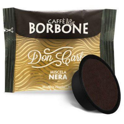 100 Capsule caffè Borbone Compatibili Lavazza A Modo Mio miscela Nera